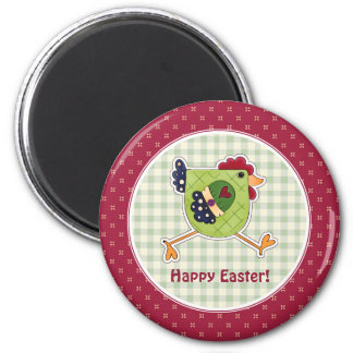 Chicken Country Design Easter Gift Magnets