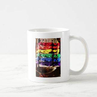 Chicken crayons coffee mugs
