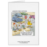 Chicken Crossing Road Funny Greeting Card