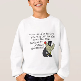 Chicken Crossing The Road Sweatshirt
