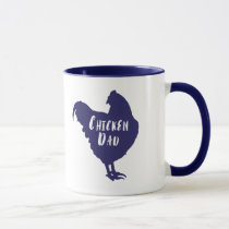 Chicken  Dad Mug
