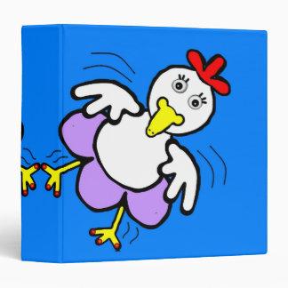 Chicken Dance 3-Ring Binder
