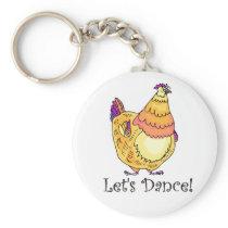 Chicken Dance Keychain