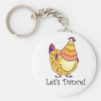 Chicken Dance Key Chains