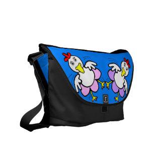 Chicken Dance Messenger Bag