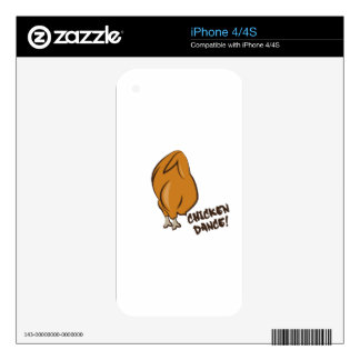 Chicken Dance Skin For iPhone 4S