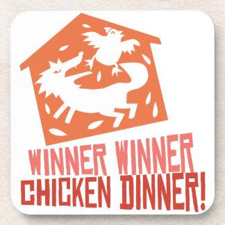 Chicken Dinner! Drink Coaster