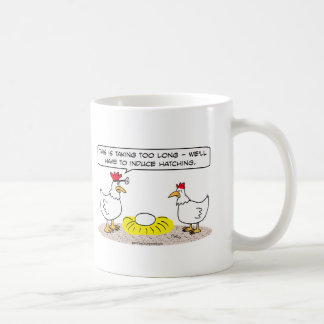 chicken doctor induce hatching egg coffee mug