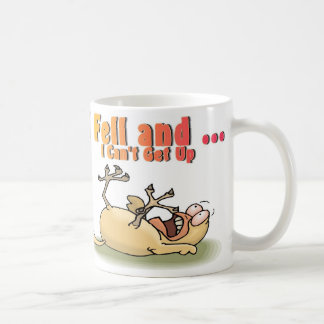 Chicken Drop Classic White Coffee Mug