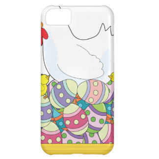Chicken Easter Eggs iPhone 5C Covers