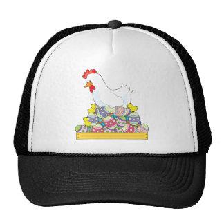 Chicken Easter Eggs Trucker Hat