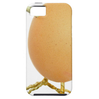 Chicken egg as bird with beak and legs iPhone SE/5/5s case