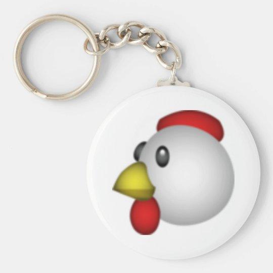 Chicken - Emoji Keychain