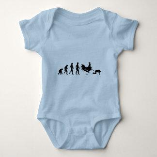 Chicken evolution tee shirt