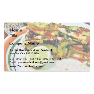 Chicken Fajitas Limes Double-Sided Standard Business Cards (Pack Of 100)