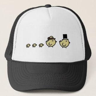 Chicken Family Trucker Hat