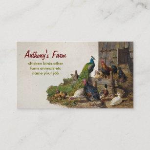 Egg farm business cards zazzle chicken farm business card colourmoves