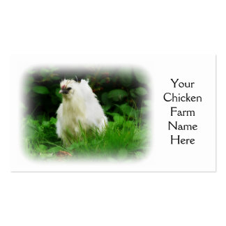 Chicken Farm Free Range Layer or Poultry Bird Double-Sided Standard Business Cards (Pack Of 100)