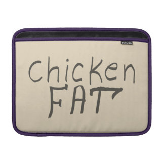 chicken fat MacBook air sleeve