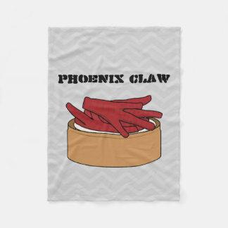 Chicken Feet Dim Sum Chinese Phoenix Claw steamed Fleece Blanket