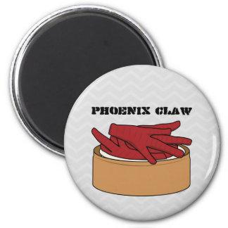 Chicken Feet Dim Sum Phoenix Claw Magnet