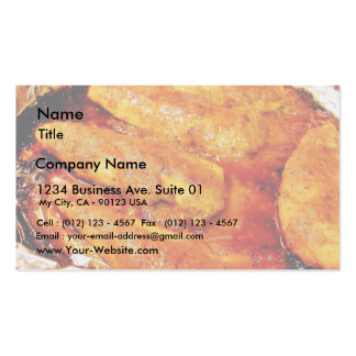 Chicken Food Double-Sided Standard Business Cards (Pack Of 100)