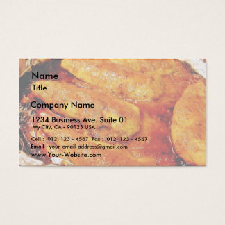 Chicken Food Business Card