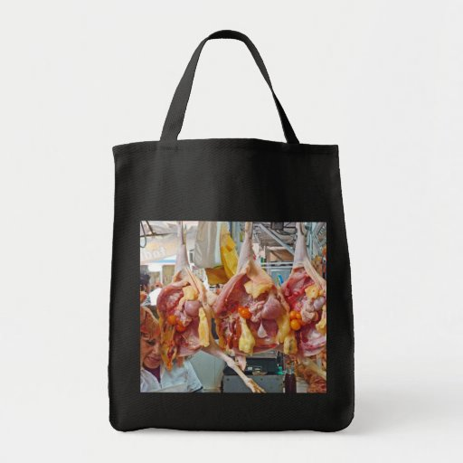 Chicken for Dinner Canvas Bag