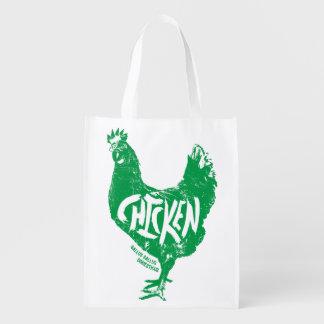 Chicken (Gallus gallus domesticus) Bag Market Tote