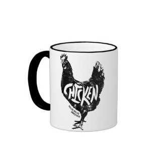 Chicken (Gallus gallus domesticus) Mug