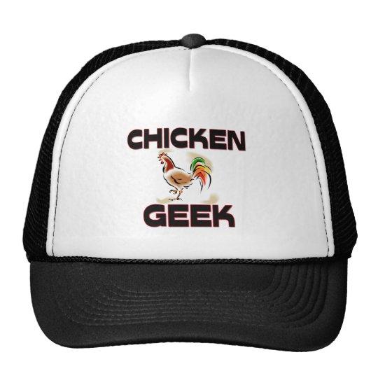 Chicken Geek Trucker Hat