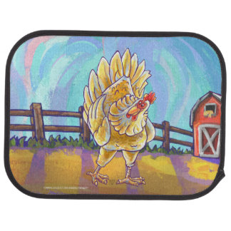 Chicken Gifts & Accessories Car Floor Mat