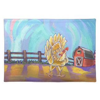 Chicken Gifts & Accessories Cloth Placemat