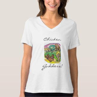 Chicken Goddess Women's Bella Plus Size Jersey T Shirt