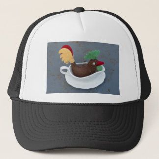 Chicken gravy trucker hat