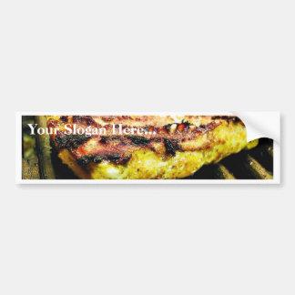 Chicken Grilling Bumper Sticker