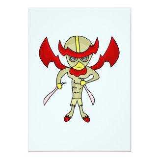 Chicken hero monster card
