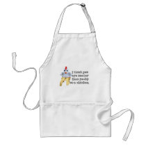 Chicken Humor Adult Apron