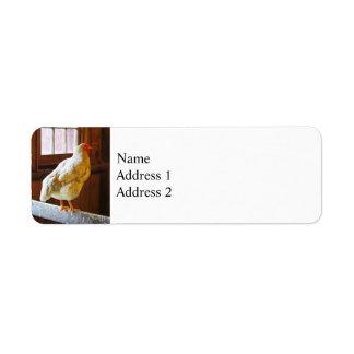 Chicken in Barn Label