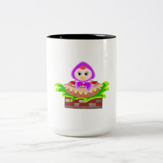 Chicken In Bonnet Coffee Mug