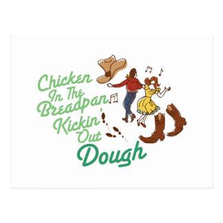 Chicken In Breadpan Postcard