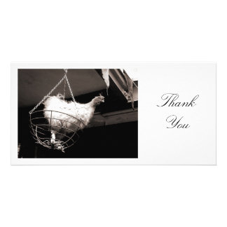 Chicken in the Basket - Thank You Card