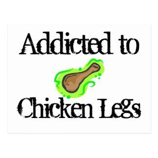 Chicken Legs Postcard