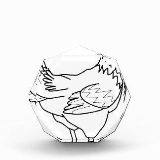 chicken line art award
