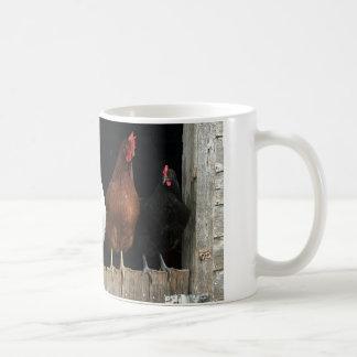 Chicken line coffee mug