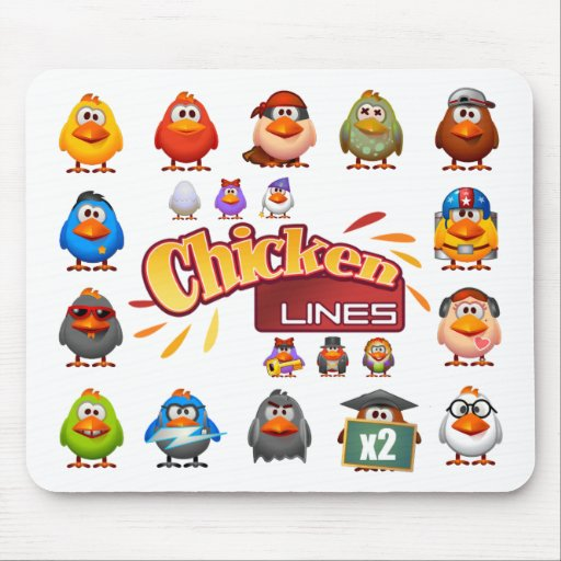 Chicken Linse Mousepad