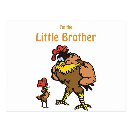 chicken little brother postcard