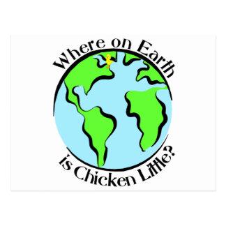 Chicken Little Postcard