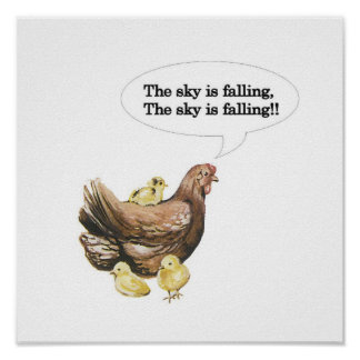 Chicken Little Print