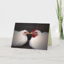 Chicken Love Card